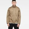G-Star RAW® Powel Deconstructed Overshirt Green model front