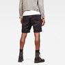 G-Star RAW® Bronson 1/2-Length Shorts Black model back