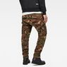 G-Star RAW® Rovic 3D Tapered Jeans Green model back