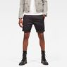 G-Star RAW® Bronson 1/2-Length Shorts Black model front