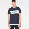 G-Star RAW® Bellar T-Shirt Dark blue model front