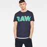 G-Star RAW® Fama T-Shirt Dunkelblau model front