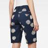 G-Star RAW® G-Star Elwood X25 3D Boyfriend Women's Shorts Dark blue front flat