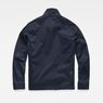G-Star RAW® Powel Deconstructed Overshirt Dark blue flat back