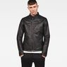 G-Star RAW® Empral 3D GPL Biker Jacket Black model front