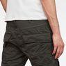 G-Star RAW® Air Defence 5620 3D Slim Pants Grey model back zoom