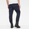 G-Star RAW® Air Defence 5620 3D Slim Pants Dark blue model back