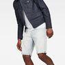 G-Star RAW® 3301 1/2-Length Shorts Hellblau front flat