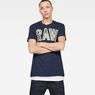 G-Star RAW® Poskin T-shirt Dark blue model front
