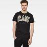 G-Star RAW® Poskin T-shirt Black model front