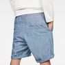 G-Star RAW® Bronson Loose 1/2-Length Shorts Medium blue model back zoom