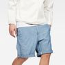 G-Star RAW® Bronson Loose 1/2-Length Shorts Medium blue model front