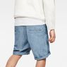 G-Star RAW® Bronson Loose 1/2-Length Shorts Medium blue model back
