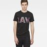 G-Star RAW® Zeabel T-Shirt Black model front
