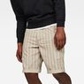 G-Star RAW® G-Star Elwood 5622 3D Sport 1/2-Length Shorts Grey front flat