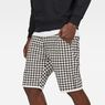 G-Star RAW® G-Star Elwood X25 3D Tapered Men's Shorts Weiß front flat