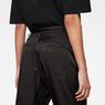 G-Star RAW® Boxxa 3D Mid waist Boyfriend Cargo Pants Black model back zoom