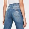 G-Star RAW® G-Star Elwood 5622 Ultra High Waist Straight 7/8-Length Jeans Bleu moyen