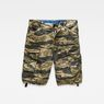 G-Star RAW® Rovic Relaxed 1/2-Length Shorts Green flat front