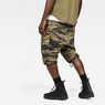 G-Star RAW® Rovic Relaxed 1/2-Length Shorts Green model back