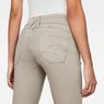 G-Star RAW® Lynn D-Mid waist Super Skinny Ankle-Cut Color Jeans Grey