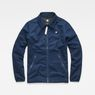 G-Star RAW® Strett Coach Overshirt Dark blue flat front