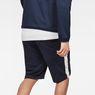 G-Star RAW® Core Stripe Loose Sweatshorts Dark blue model back