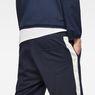 G-Star RAW® Core Stripe Loose Sweatshorts Dark blue model back zoom