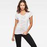 G-Star RAW® Emoru Slim T-Shirt White model front