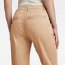 G-Star RAW® Bronson Mid Waist Skinny Chino Beige model back zoom