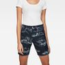 G-Star RAW® G-Star Elwood X25 3D Boyfriend Women's Shorts Dark blue front flat