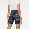 G-Star RAW® G-Star Elwood X25 3D Boyfriend Women's Shorts Dark blue model