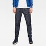 G-Star RAW® Lanc Straight Cuffed Jeans Dunkelblau model front
