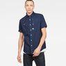 G-Star RAW® Hybrid-Archive Utility Straight Shirt Dunkelblau