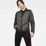 G-Star RAW® Alaska Padded Teddy Jacket Grey model front