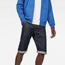 G-Star RAW® Arc 3D 1/2-Length Shorts Dark blue front flat