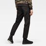 G-Star RAW® Bronson Pleated Relaxed Tapered Chino Schwarz model back