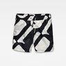 G-Star RAW® Dirik Pattern Swimshorts Black front bust