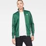 G-Star RAW® Lanc Slim Tracktop Sweater Green model front