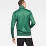 G-Star RAW® Lanc Slim Tracktop Sweater Green model back