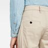 G-Star RAW® Bronson Pleated Relaxed Tapered Chino Beige model back zoom