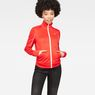 G-Star RAW® Lanc Slim Tracktop Sweater Red model front
