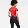 G-Star RAW® 14 Slim V-Neck T-Shirt Red model back