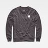 G-Star RAW® Doax Sweater Grey flat front