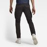 G-Star RAW® Rovic Zip 3D Straight Tapered Pants Grey model back