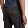 G-Star RAW® Rovic Zip 3D Straight Tapered Pants Grey model back zoom