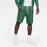 G-Star RAW® Lanc Straight Track Shorts Green model front