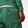 G-Star RAW® Lanc Straight Track Shorts Green model back zoom