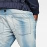 G-Star RAW® 5620 G-Star Elwood 3D Sport Tapered Jeans Light blue model back zoom