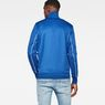 G-Star RAW® Lanc Slim Tracktop Sweater Medium blue model back